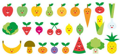Fruits & Vegetables Emojis