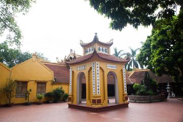 pagoda of Tran Quoc temple in Hanoi, Vietnam
