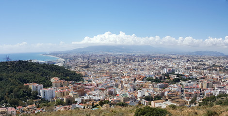 Malaga views from above