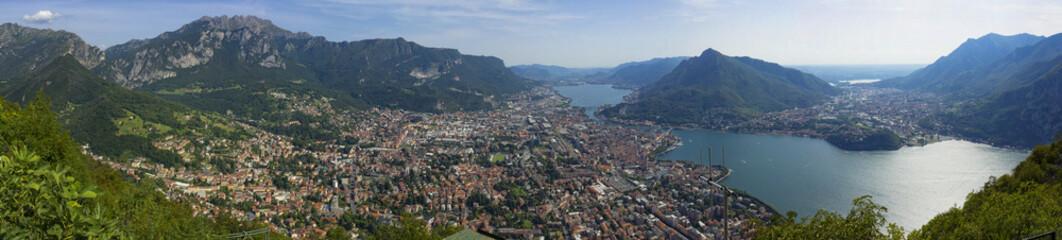 Panorama di Lecco