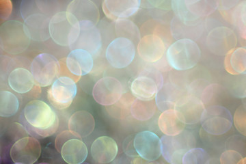 Abstract light colored background with bokeh, photo
