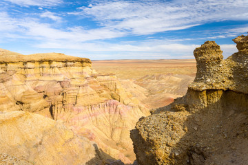 Flaming Cliffs Bayanzag Gobi Desert Mongolia