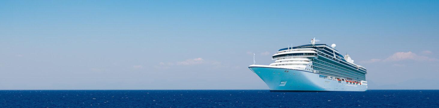 Cruise travel.