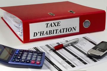 taxe d'habitation sur classeur