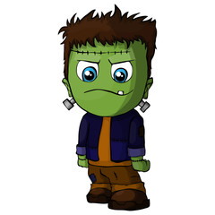 Cartoon Frankenstein Character