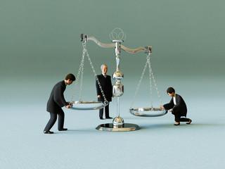 裁判官と天秤