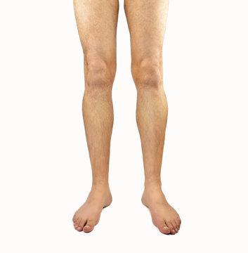 hairy man legs