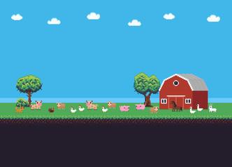 Pixel Art Farm