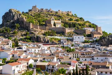 Town of Moclin, Granada, Spain