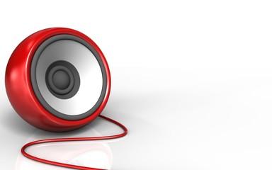 3d blank speaker