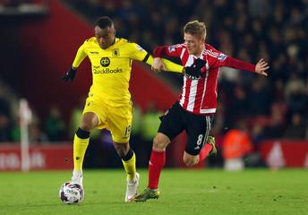 Southampton v Aston Villa - Capital One Cup Fourth Round