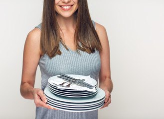 Advertising portrait for catering servise.
