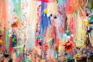 Colores de fiesta