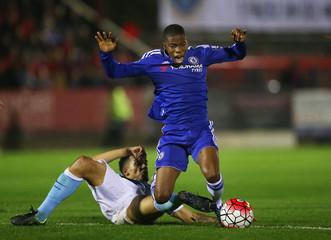 Chelsea v Manchester City - Barclays Under 21 Premier League