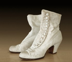 women's everyday footwear from the middle 19th century