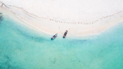 Pristine turquoise waters of Aruba