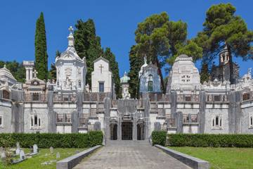 Ancient monumental cemetery of Chiavari, Italy