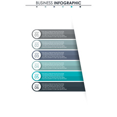 Business data, chart. Abstract elements of graph, diagram with 6 steps, strategy, options, parts or processes. Vector business template for presentation. Creative concept for infographic
