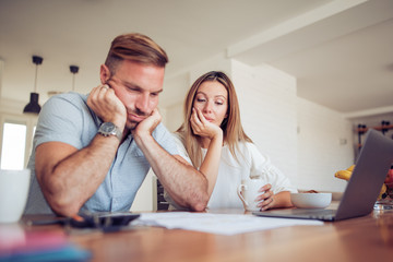 Family, debts and financial problems