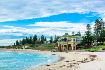 オーストラリア パース コッテスロービーチ cottesloe beach