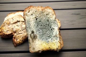 ..........Essen, Nahrung, Brot, Schimmel, verdorben....