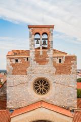 Le clocher de la chapelle du Palais des Rois de Majorque à Perpignan
