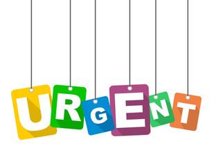 vector illustration background urgent