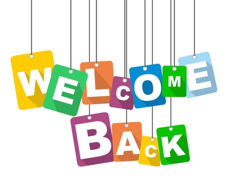 vector illustration background welcome back