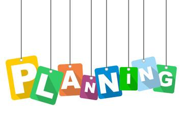 vector illustration background planning