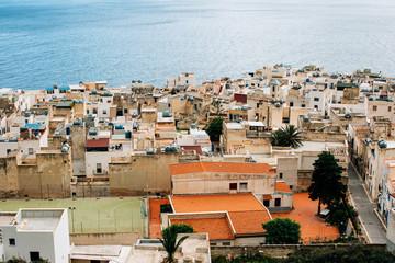 Siciliy - View on Picturesque Mediterranean Seaside Village