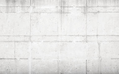 White concrete wall, background texture