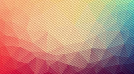 Composition of triangles geometric shapes and stripes