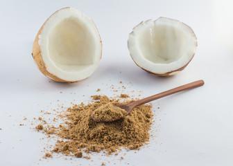Brown coconut Flour