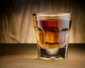 Whisky shot