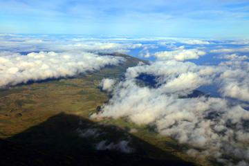 Pico volcano (2351m) on Pico Island, Azores, Portugal, Europe