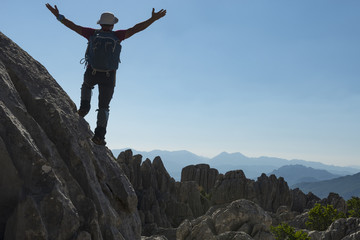 reconnaissance in unusual tough mountains