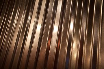 Corrugated Aluminum Closeup