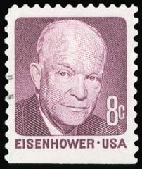 US Postage Stamp - Dwight Eisenhower