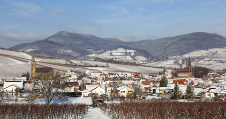 Winter in der Südpfalz