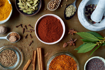 Different spices to have in the pantry