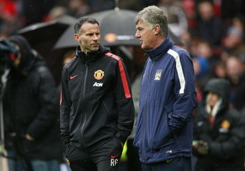 Manchester United v Manchester City - Barclays Premier League