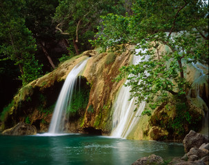 Turner Falls in Moring Light