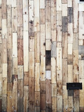 rustic modern wood panel pattern