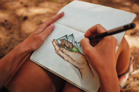 nature in hand