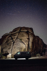 Van, Desert and the Milky Way.