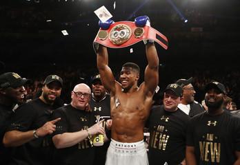 Charles Martin v Anthony Joshua IBF Heavyweight Title