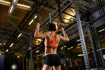 Female gymnast,