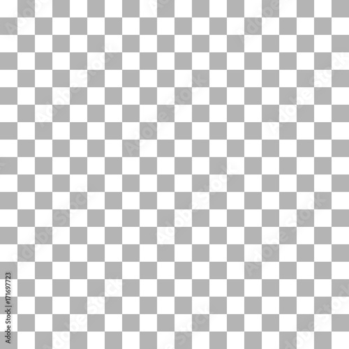 Seamless checkerboard pattern, sign of the transparent background ...