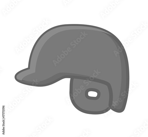 6f471ee42bd Baseball Player Helmet clip-art vector illustration