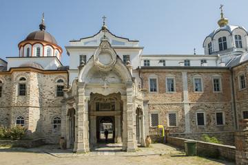 Orthodoxes Kloster St. Andreas bei Karies, auf dem Berg Athos, Griechenland